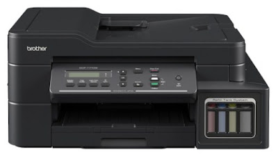 Brother DCP-T710W Printer Drivers Software Download Windows 7 8 10, Mac os