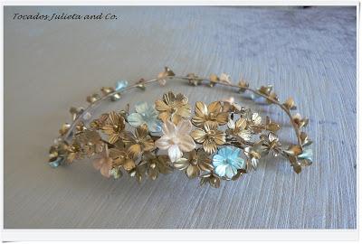 corona flore porcelana