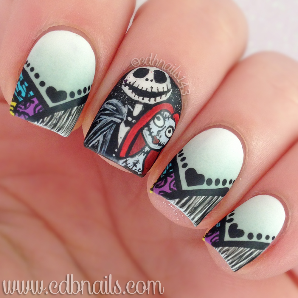 40 Great Nail Art Ideas Halloween Cdbnails