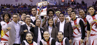 SMB Philippine Cup Champions