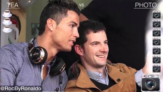 El problema de ser Cristiano Ronaldo e ir a tomar te