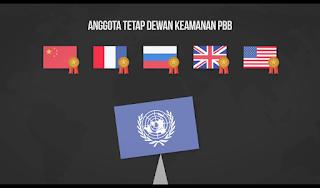 Anggota Tetap Dewan Keamanan PBB Sebagian Besar Negara Pemenang Perang Dunia Ke Dua