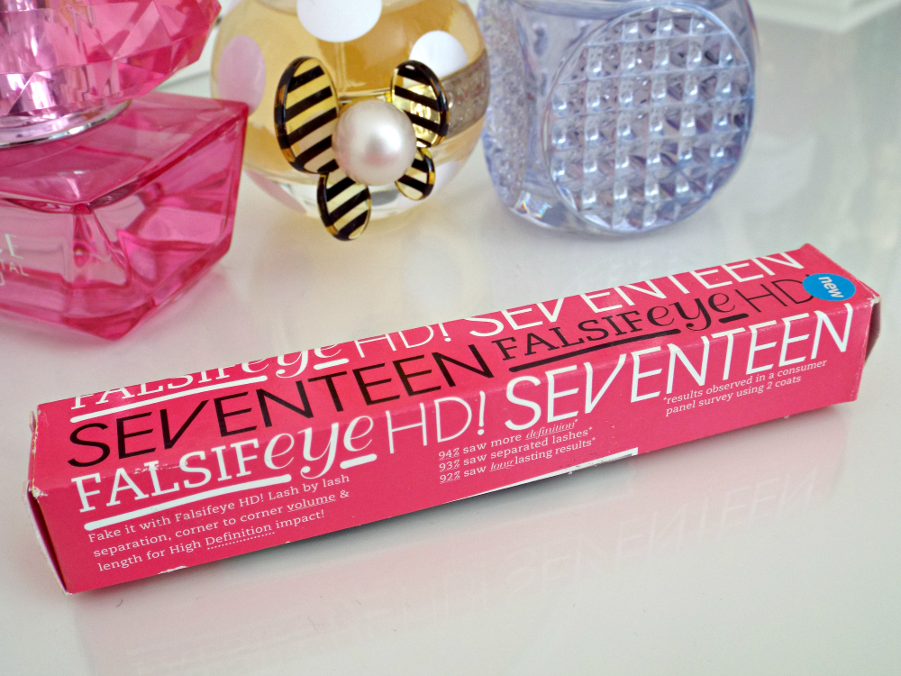 Seventeen Falsifeye HD Mascara Review,