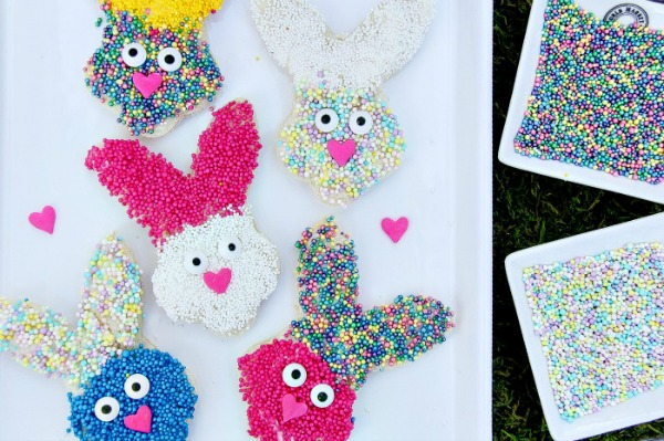Spring Bunny Treats for Kids from 5 Minutes for Mom