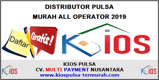 Distributor Pulsa Murah All Operator 2019
