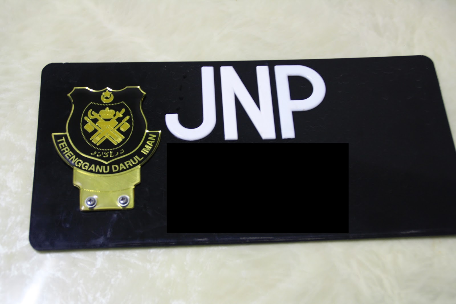 I Bought One About Rm30 At Dengkil Epoxy Type And Gold Color Hehehe Look Like A Good Quality Sort Of State Emblem Vip Hahaha Koya Jadi
