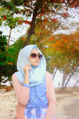 hijab pantai simple  ootd hijab simple ke pantai  tips style hijab untuk ke pantai