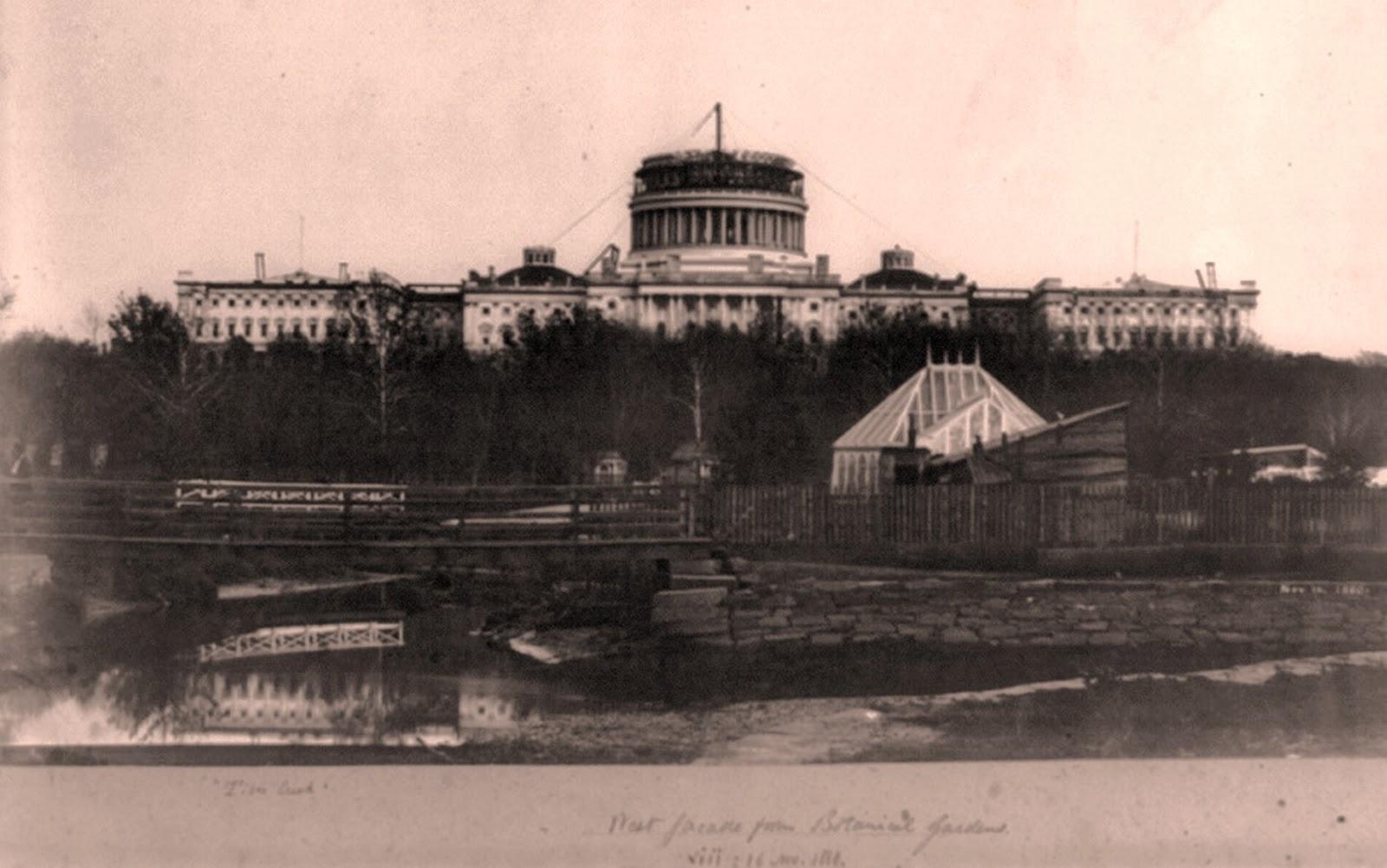 Capitol Building Construction History