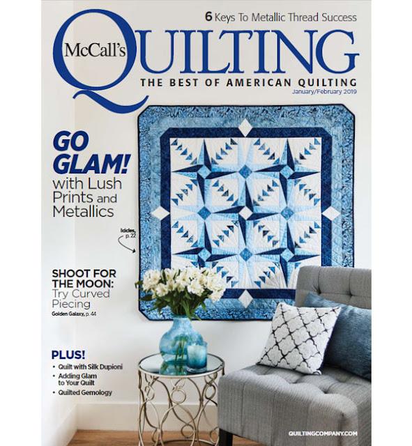 McCall's Quilting Jan/Feb 2019 magazine