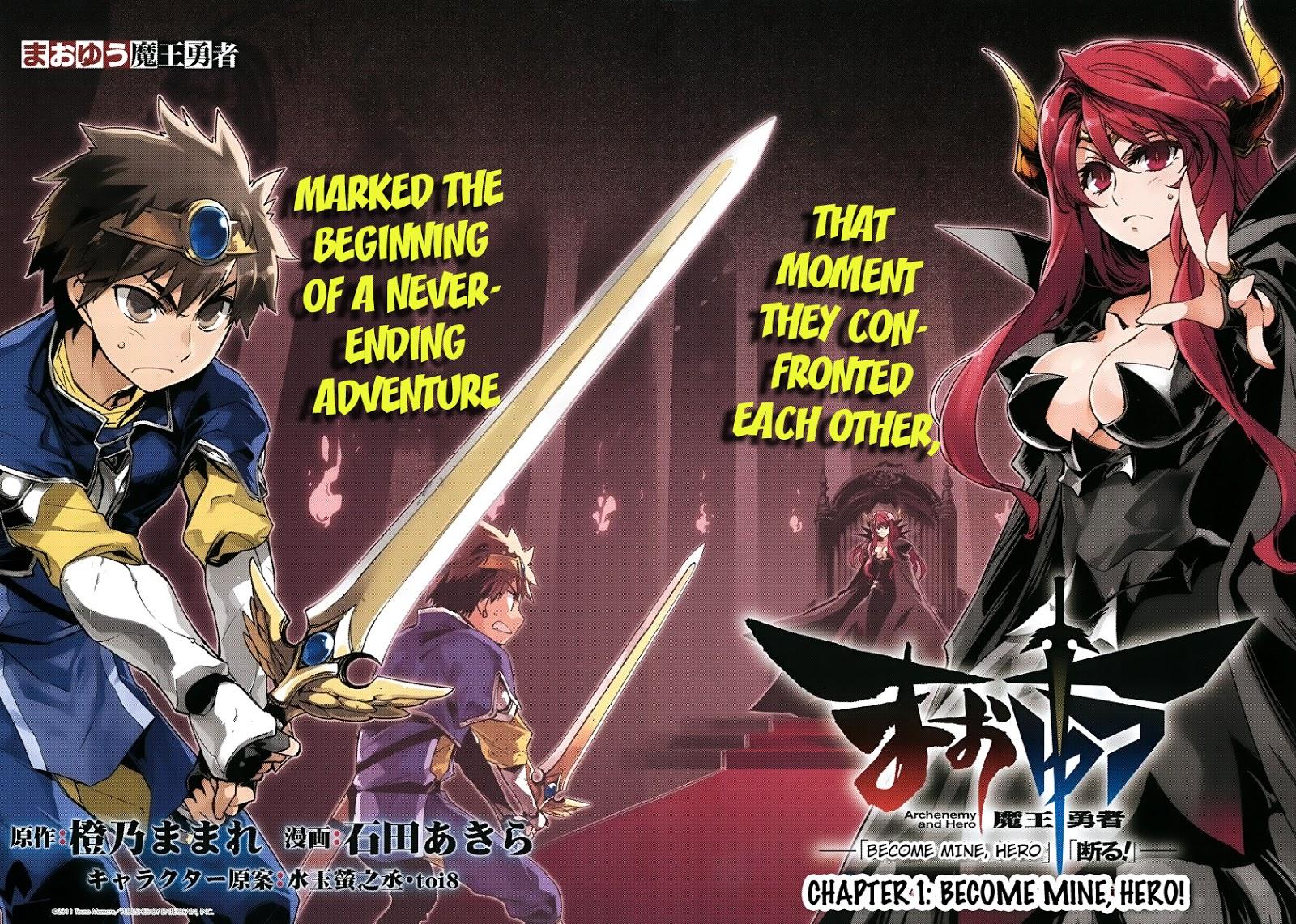 Anime populer: Maoyuu Yuusha