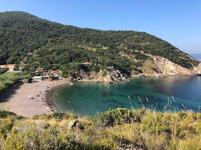 View of Nisportino Elba.