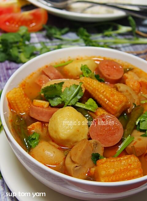 resep sup tom yum