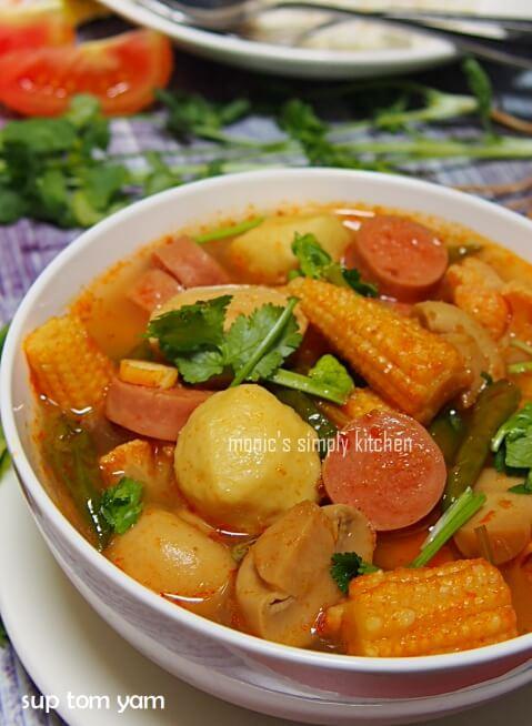 resep sup tom yum