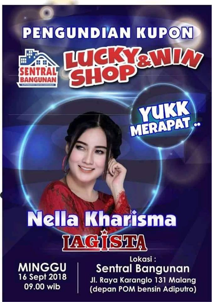 pengundian kupon lucky & win Shop