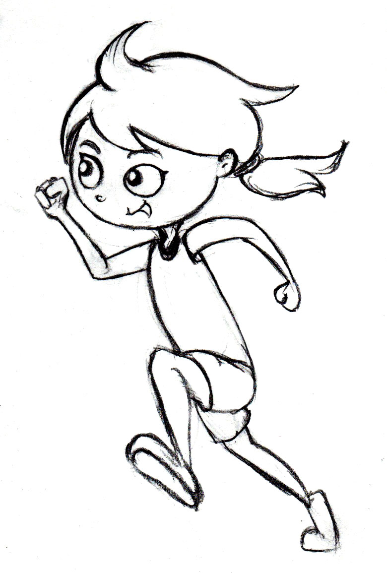 coloring pages run - photo#27