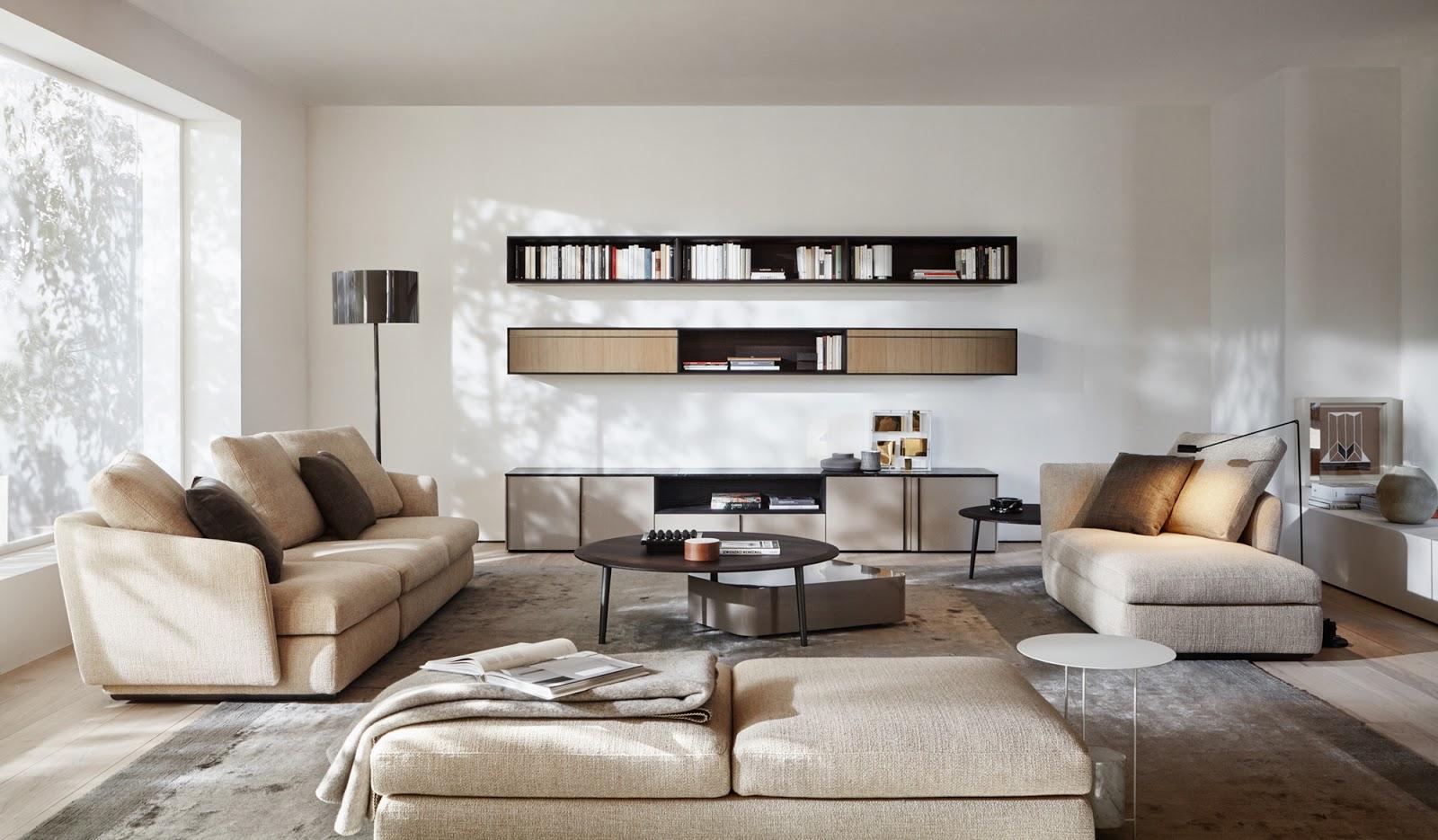 Per una casa ricca di design storia e qualità SAG'80 propone gli arredi Molteni
