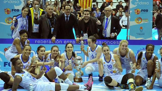 BALONCESTO - Copa de la Reina 2017 (Girona): Perfumerías Avenida asalta Girona para levantar su 6ª Copa con una estelar Silvia Domínguez de 27 puntos
