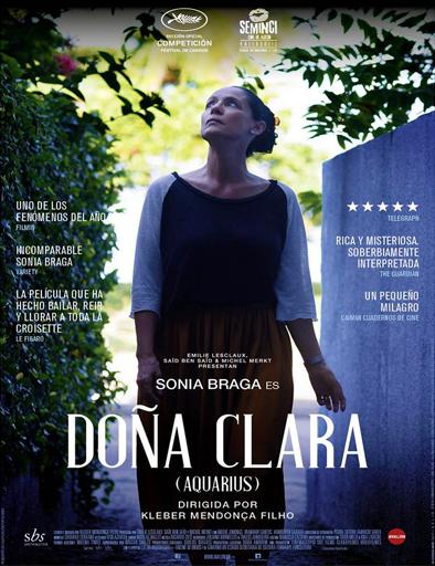 Ver Doña Clara (Aquarius) (2016) Online