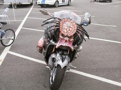 Мотоцикл под Хищника