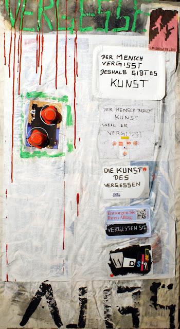 Kris Kind 2009, Die Kunst des Vergessens, 110 x 60cm