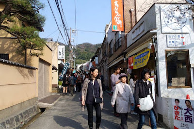 10D9N Spring Japan Trip: Ginkaku-ji Temple Street, Kyoto