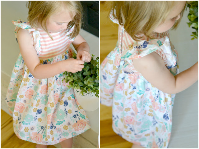 Sewing for Girls: Floral Girls' Infinite A-Line Dresses