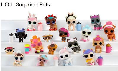 Новости о куклах в шарах L.O.L. Surprise Pets - серия зверей