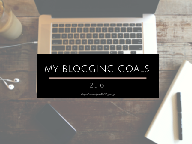 My Blogging Goals 2016