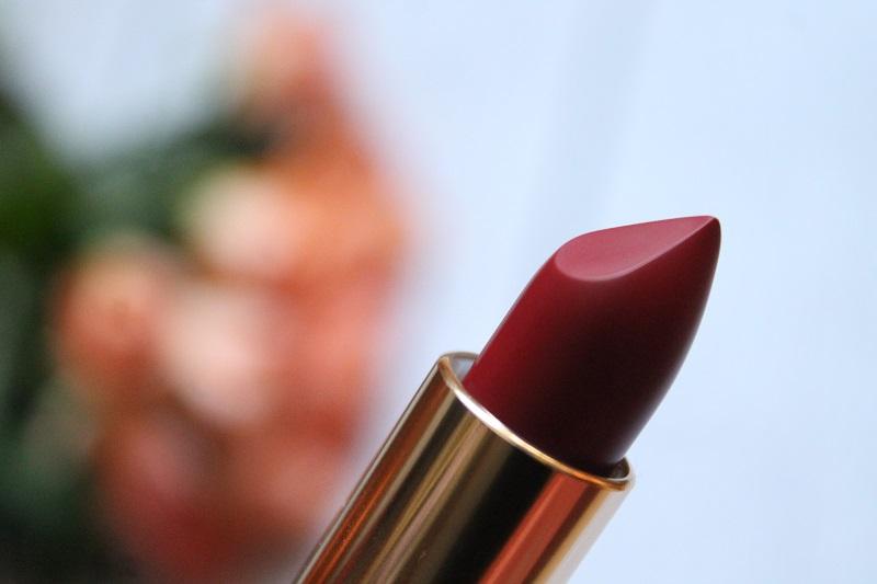 matowa szminka loreal paris cherry