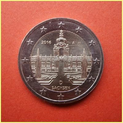 2 Euros Alemania 2016