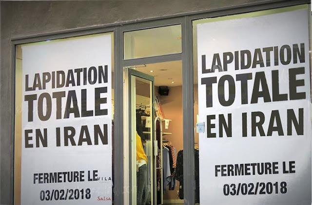 texte : Lapidation totale en Iran