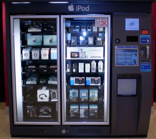 Maquina expendedora Apple en Macy's, Estados Unidos