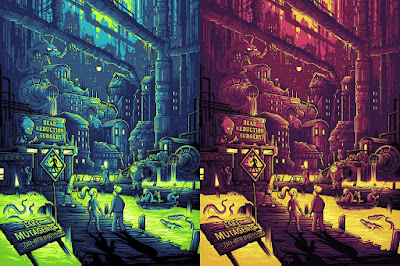 "Futurama ""You Guys Realize You Live…"" Screen Print by Dan Mumford x Dark Ink Art - Regular & Variant Editions"