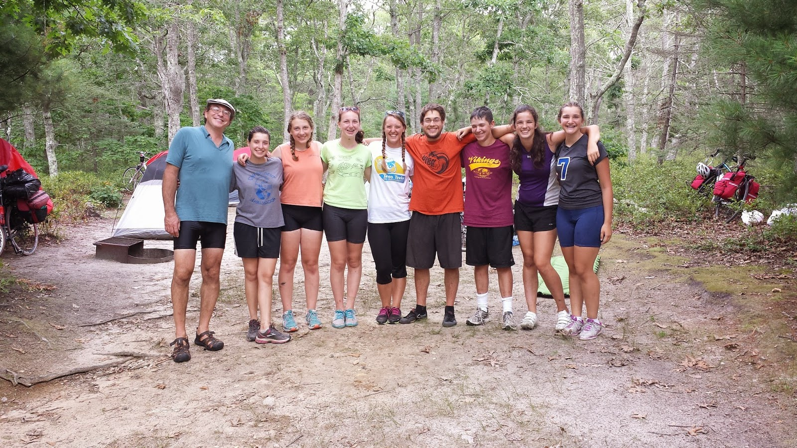 Teen Treks New England Shore Trek Knocks Out Another 25 Miles