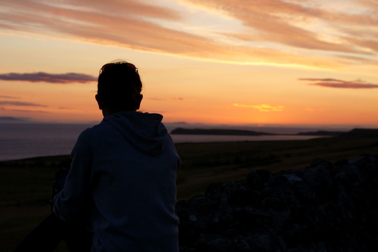 Hello Freckles #ULDAdventure Skye Sunset