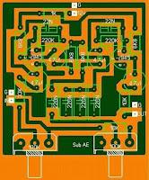 PCB Subwoofer Filter C945