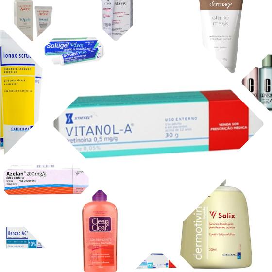 produtos para tratamento acne