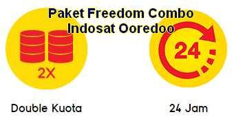 Paket Indosat Freedom Combo Termurah Market Pulsa