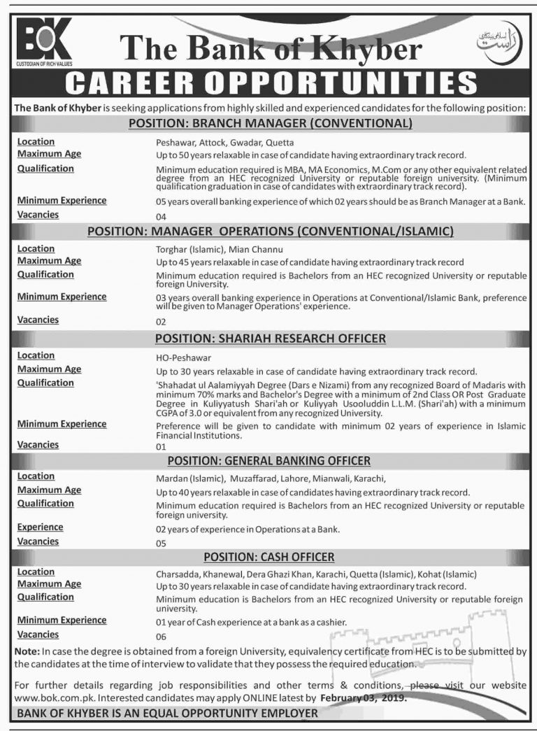 bank of khyber,jobs in bank of khyber,bank of khyber for cash officers jobs 2018,bank of khyber jobs,the bank of khyber (bok),bank of khyber jobs 2018,bank of khyber jobs 2019,how to apply online for bank of khyber,the bank of khyber in jobs 2019,the bank of khyber in jobs 2019 || tahseen jobs,jobs in pakistan,khyber,bk the bank of khyber