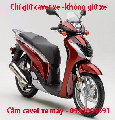 Cầm cavet xe tại HCM, Cầm xe không giữ xe tại HCM - 0909933608