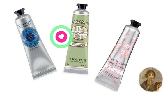 L'Occitane en Provence hydrating hand creams, review and recommended product by Valentina Chirico