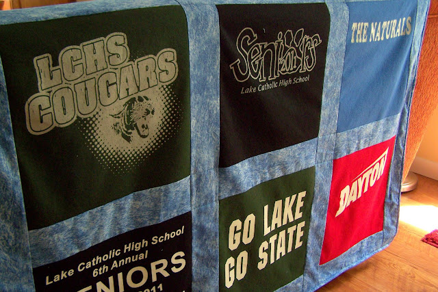 Another Grad Another T Shirt Quilt!