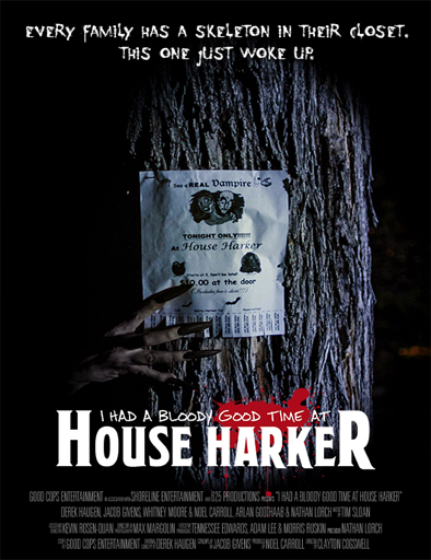 Ver I Had a Bloody Good Time at House Harker (2016) Online