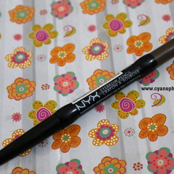 Review NYX Auto Eyebrow - Medium Brown #EP03