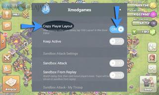 Fitur Copy Player Layout Xmodgames Untuk Copy Paste Base COC