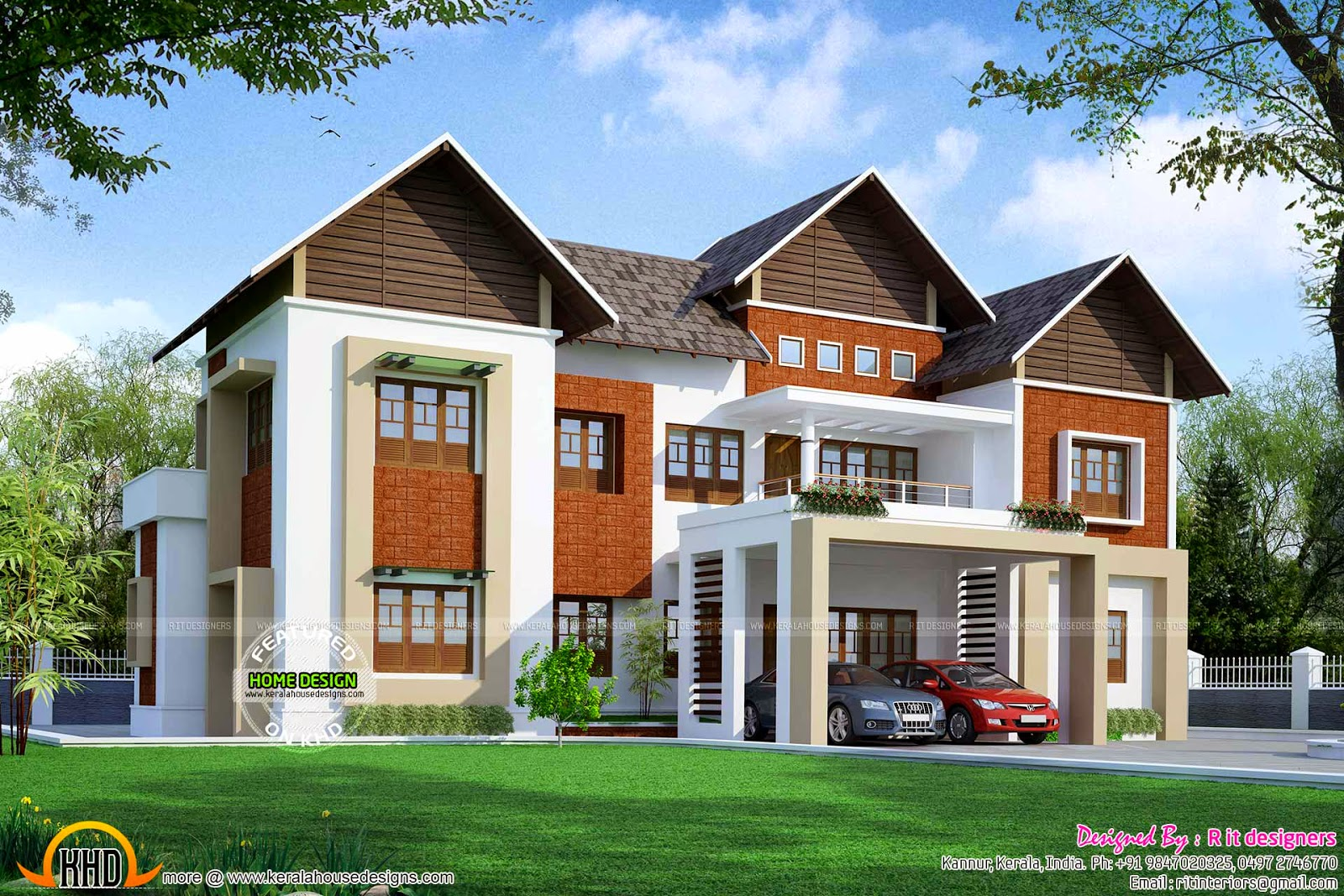 April 2015 kerala home design and floor plans for Kerala house plans 2014