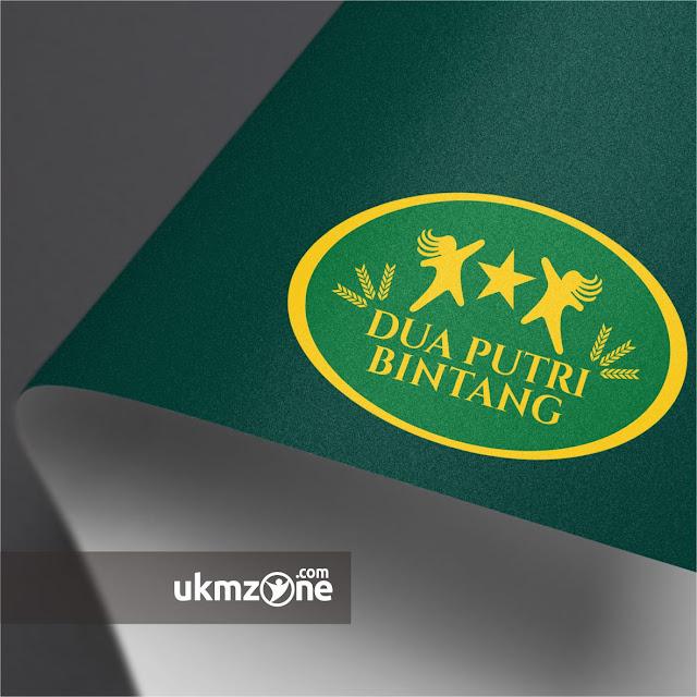 Desain logo untuk usaha makanan betawi Dua Putri Bintang ukm umkm ikm depok - UKM ZONE