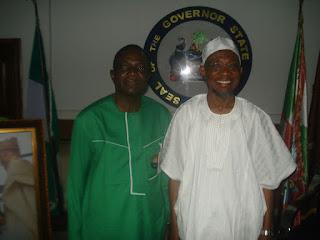 NSE President, Visits Ogbeni Aregbesola (Photos)