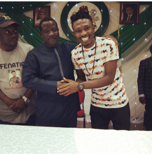 #BBNaija Winner Efe Arrives Jos For his Homecoming in Style