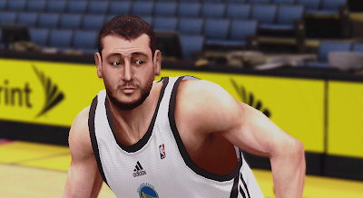 NBA 2K14 Andrew Bogut Cyberface Patch